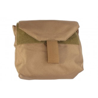 AMA Tactical Gas Mask 1000D Nylon Pouch w/ MOLLE Attachment - COYOTE BROWN