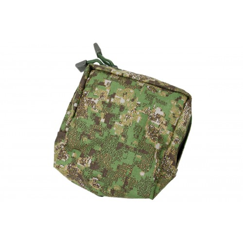 AMA 500D Nylon Cordura Square MOLLE Canteen Pouch - DIGITAL FOREST