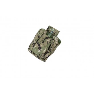 AMA Airsoft Nylon Tactical Combatant Dump Pouch - WOODLAND DIGITAL