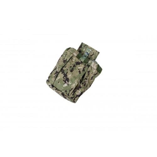 AMA Airsoft Nylon Tactical Combatant Dump Pouch - WOODLAND DIGITAL