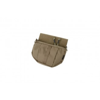 AMA Adhesive Flap 500D Nylon Utility Fanny Pack - COYOTE BROWN