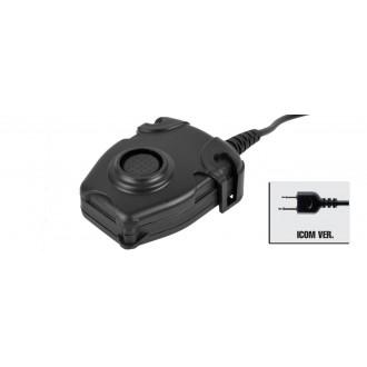 Z-Tactical Zpeltor PTT Military Standard  ICOM Version - BLACK