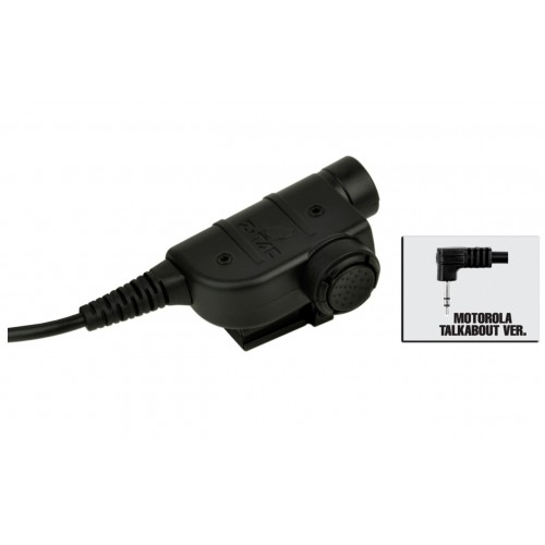 Z-Tactical Zsilynx Releases Chest PTT Motorola 1-Pin - BLACK