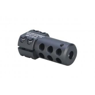ARES Aluminum Short SL8/SL9 Airsoft Muzzle Break - BLACK