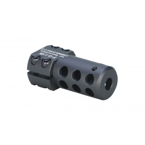 ARES Aluminum Short SL8/SL9 Airsoft Muzzle Break - BLACK