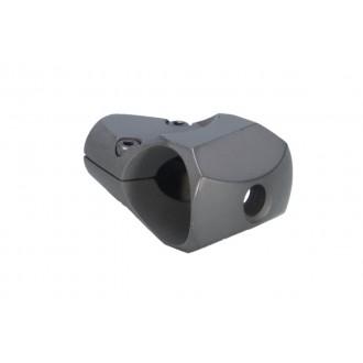 ARES Aluminum 60mm PGM Gas Sniper Airsoft Muzzle Break - BLACK