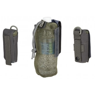 Wosport Tactical 1000D Nylon Folding Water Bottle Bag II - GRAY