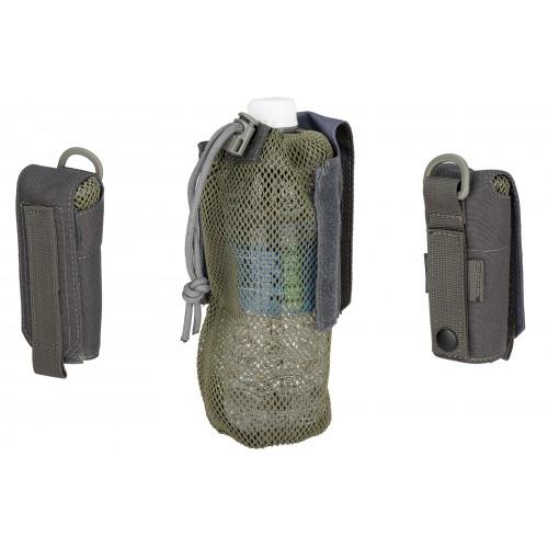 Wosport Tactical 1000D Nylon Folding Water Bottle Bag II - GRAY