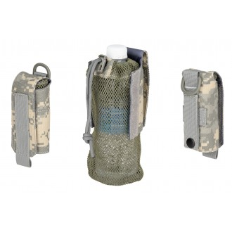 Wosport Tactical 1000D Nylon Folding Water Bottle Bag II - ACU