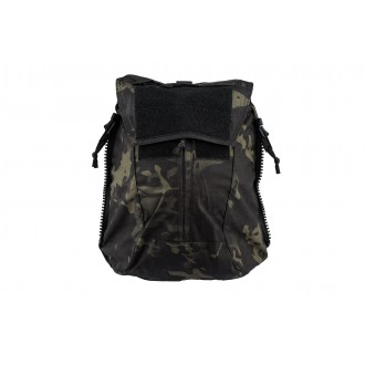 TMC Zipper Back Panel Attachment Backpack - CAMO BLACK