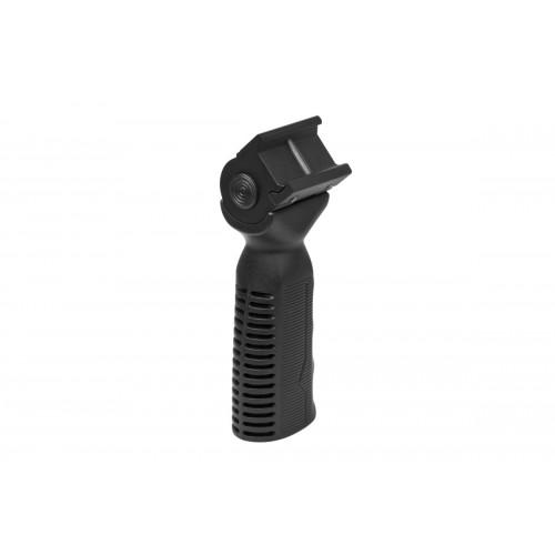VISM 45°/ 90°/ -45° Side to Side Ergonomic Vertical Grip - BLACK