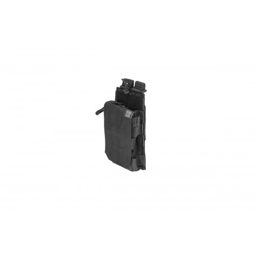 5.11 Tactical MOLLE Single M4 Bungee Magazine Pouch - BLACK