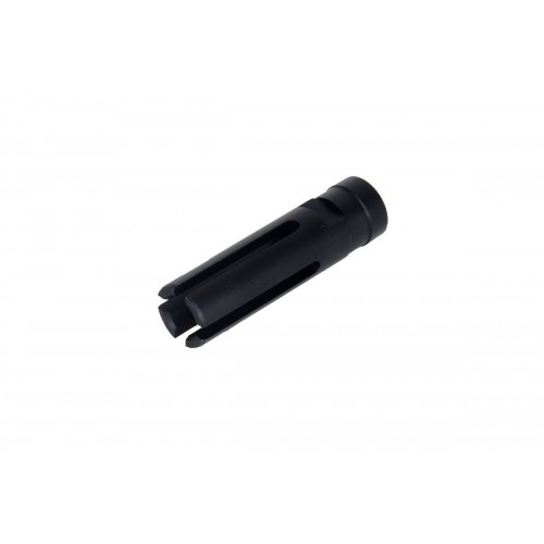 JG Airsoft Tactical Metal Flash Hider for J36K - BLACK