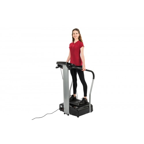AuWit 500W Digital Motor Balance Fitness Platform Machine - BLACK