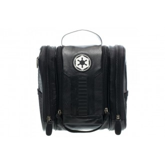 BioWorld Men's Star Wars Galactic Empire PU Dopp Kit - BLACK