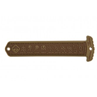 Hazard 4 Rubber MOLLE Cheatstick #3 Common Knots - COYOTE