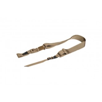 UK Arms Airsoft Tactical 3-Point Gun Sling Attachment - TAN