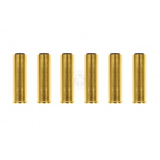 Set of 6 x HFC Metal Revolver Shells for GNB132 / GNB133 Gas Revolvers