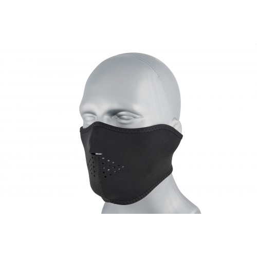 Zan Headgear Airsoft Neoprene Polyester Half Mask - BLACK