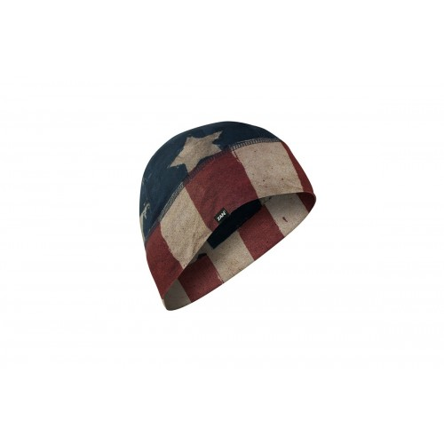 ZAN Headgear SportFlex™ Series Skull Cap Thermal Beanie - PATRIOT