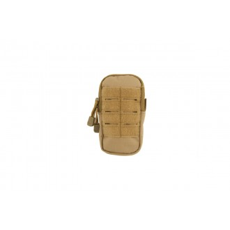 DOORBUSTER: Lancer Tactical Small Enclosed M4 EMT Utility Pouch - TAN
