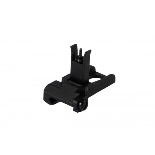 DOORBUSTER: UK Arms Airsoft QD Front Iron Flip-Up Sight - BLACK