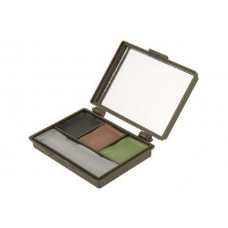 DOORBUSTER: Allen Company Camo Face Paint Compact Set w/ Mirror - 4 COLOR