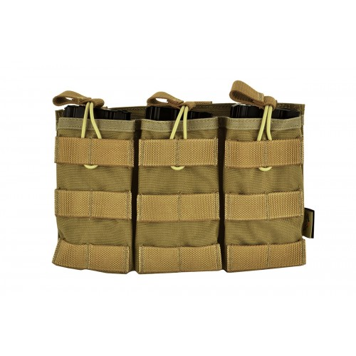 DOORBUSTER: Flyye Industries 1000D MOLLE M4/M16 EV Universal Triple Magazine Pouch