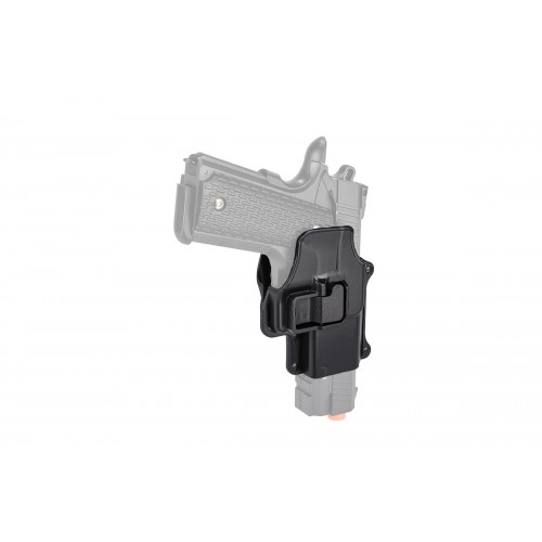 Doorbuster: AMA Hard Shell G25/G26 Pistol Holster - BLACK