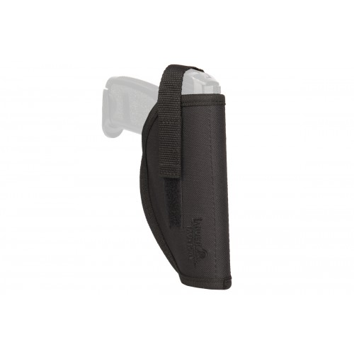 Doorbuster: Lancer Tactical Simple Hip Airsoft Pistol Holster - BLACK