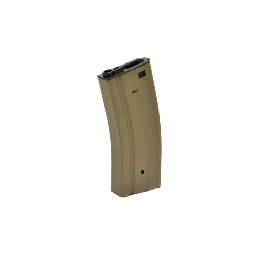 Doorbuster: Golden Eagle M4 AEG 300rd High Capacity Magazine - Tan
