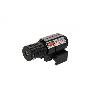 Doorbuster: Lancer Tactical Airsoft Tactical Metal Compact Red Laser - BLACK