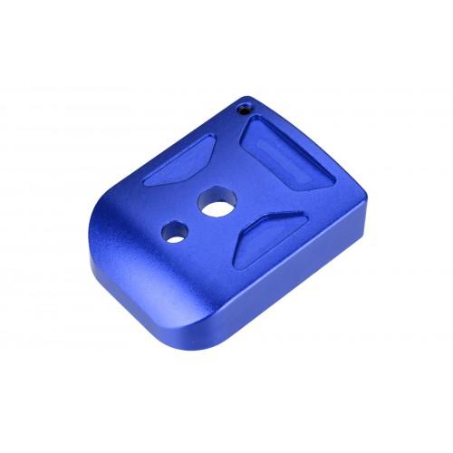 5KU Aluminum Hi-Capa Mag Base Cover (Type 1) - BLUE