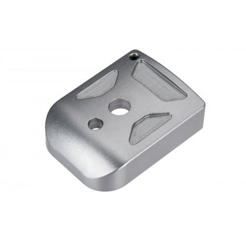 5KU Aluminum Hi-Capa Mag Base Cover (Type 1) - TITANIUM