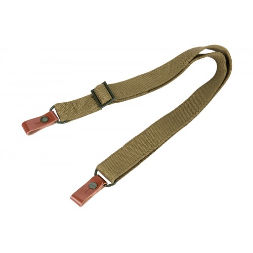 NcStar 2-Point Rifle Sling for AK Series Rifles - OD GREEN