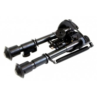 NcStar Precision-Grade Compact Friction Bipod w/ 3 Mount Adapters