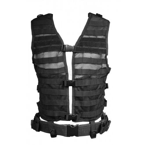 NcStar MOLLE / PALS Modular Tactical Vest - Black