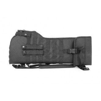 NcStar Rifle Scabbard Protective Gun Case w/ Shoulder Sling - BLACK