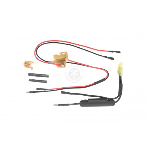JG Version 2 Front Wired Airsoft AEG Harness - Small Tamiya Connector