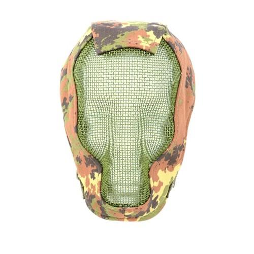 Black Bear RAZOR Steel Mesh 1000D Full Face Mask - VEGETATION ITALIA