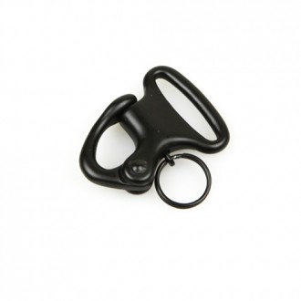 Condor Outdoor Tactical Snap Hook Shackle Six (6) Pack - BLACK