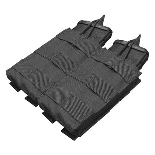 Condor Outdoor MOLLE Open-Top Double M4 Magazine Pouch - BLACK