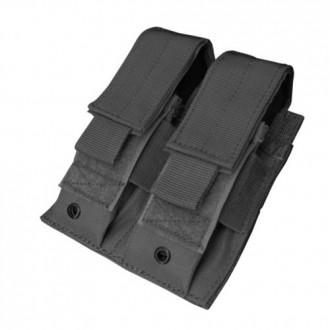 Condor Outdoor Tactical MOLLE Double Pistol Magazine Pouch - BLACK