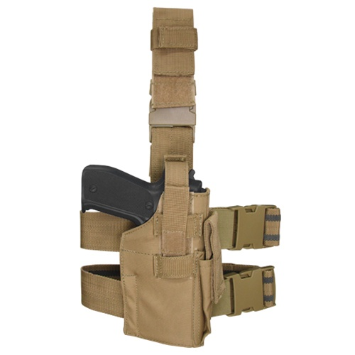 Condor Outdoor Tactical Drop Leg Holster - TAN