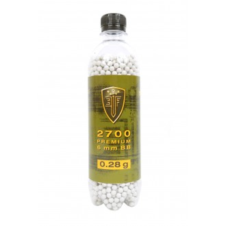 0.28G Elite Force Precision 6mm Seamless BBs - 2700rd Bottle