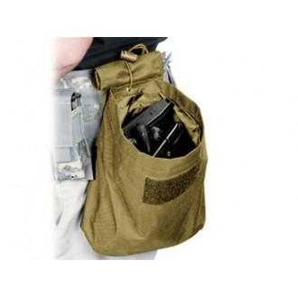 VISM MOLLE Tactical Folding Dump Pouch - TAN