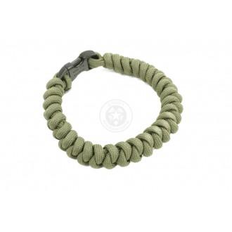 Flyye Industries Mil-Spec Paracord Snake Weave Bracelet - OD