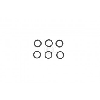 SHS X-Mod Airsoft Soft Rubber Air Nozzle O-Ring - Set of 6