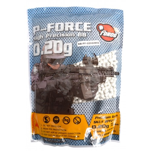 0.20g PFORCE Seamless Competition Grade Airsoft BBs - 5000rd BAG