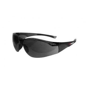 P-Force Impact Resistant Safety Shooting Glasses - Smoke Gray Lens